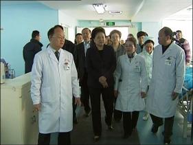 国务院副总理刘延东到我院调研