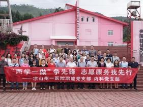 職能、內科黨支部黨員參觀知青博物館