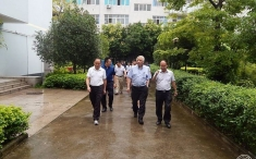 四川省肿瘤医院郎锦义院长一行到我院指导工作