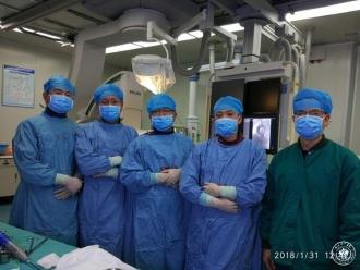 胸痛患者的又一有力保障——州一医院首次独立开展主动脉夹层手术